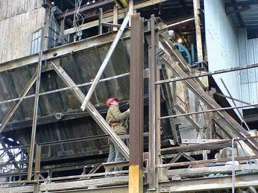 Особенности демонтажа металлоконструкций. Статьи на строительном ...
