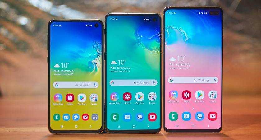 Топ-10 лучших смартфонов Samsung — Рейтинг 2019 года